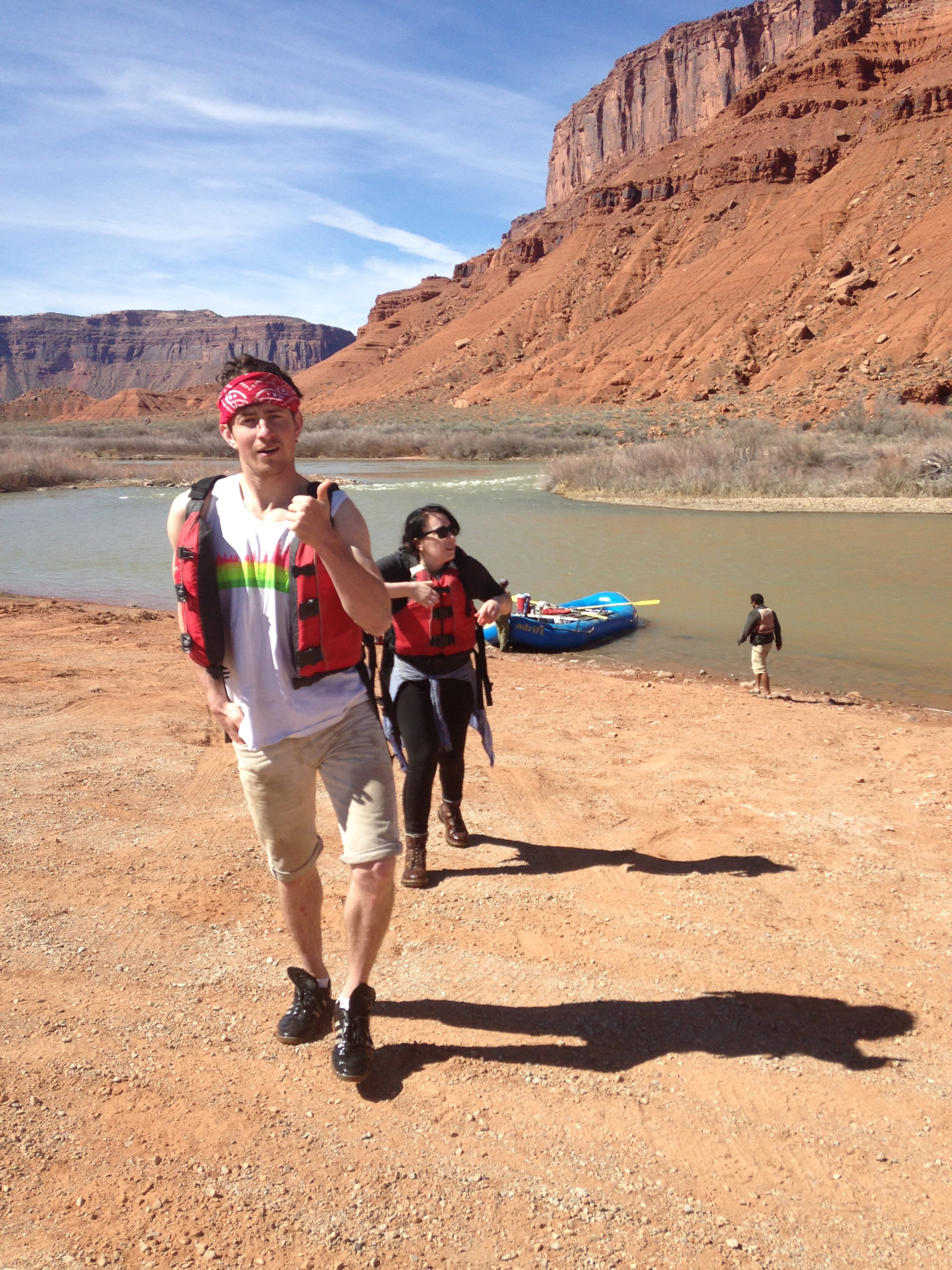 River Rats In Moab Day 5 Butt Naked Travels
